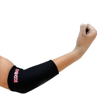 KOBO Neoprene Elbow Support (3630),  Black  Medium