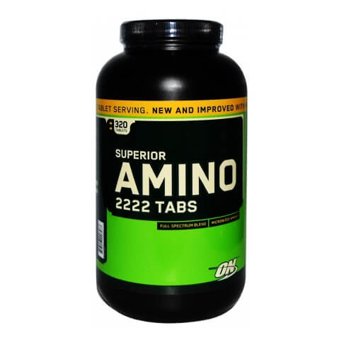 ON (Optimum Nutrition) Superior Amino 2222 Tablets,  320 tablet(s)  Unflavoured