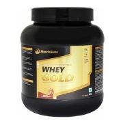 MuscleBlaze Whey Gold, 2.2 lb Rich Milk Chocolate