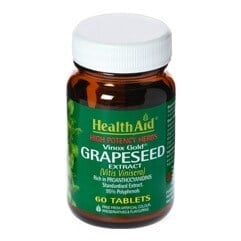 HealthAid Grapeseed Extract,  60 caplets