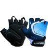 KOBO Gym Gloves (WTG-20),  Blue & Black  XL