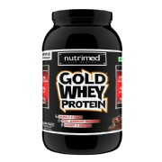 Nutrimed Gold Whey Protein,  2 lb  Chocolate