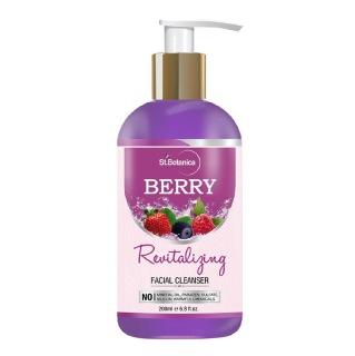 St.Botanica Berry Revitalizing Facial Cleanser,  200 ml  All Skin Type
