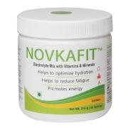 Novkafit Electrolyte Mix with Vitamins & Minerals,  0.60 lb  Lemon