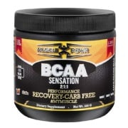 Muscle Powr BCAA Sensation 2:1:1,  0.66 lb  Cola