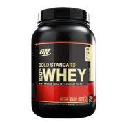 ON (Optimum Nutrition) Gold Standard 100% Whey Protein,  2 lb  Vanilla Ice Cream