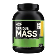 ON (Optimum Nutrition) Serious Mass,  6 lb  Banana