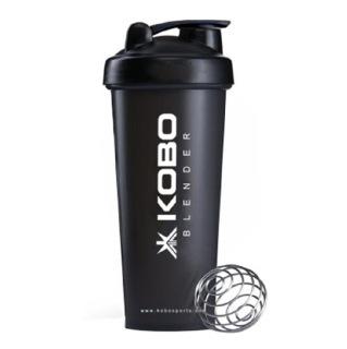 KOBO Shaker Sipper Blender Bottle (2904),  Black  600 ml