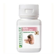Amway Nutrilite Biotin Cherry Plus,  Unflavoured  60 tablet(s)