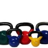 B Fit USA Vinyl Kettlebell,  Red  8 kg