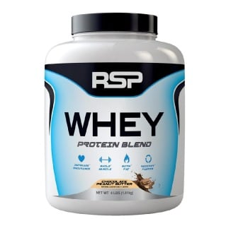 RSP Nutrition Whey,  4 lb  Chocolate Peanut Butter