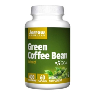 Jarrow Formulas Green Coffee Bean Extract (400mg),  60 capsules