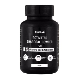 Healthvit Activated Charcoal Powder for Teeth,  0.020 kg