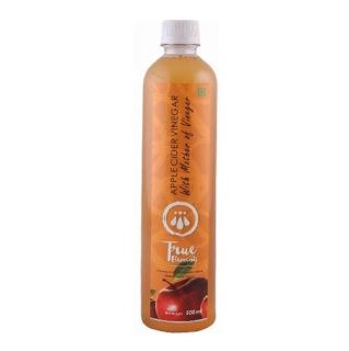 True Elements Apple Cider Vinegar,  0.5 L  Unflavoured