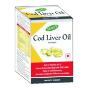 Shrey's Cod Liver Oil,  100 softgels