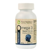 Pure Nutrition Omega 3 Double Strength,  75 softgels
