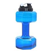 GHC Dumbell Shaker Bottle,  Blue  2.2 L