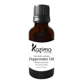 Kazima Peppermint Oil,  30 ml  100% Pure & Natural