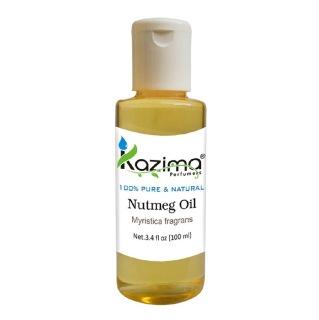 Kazima Nutmeg Oil,  100 ml  100% Pure & Natural