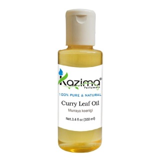 Kazima Curry Leaf Oil,  100 ml  100% Pure & Natural