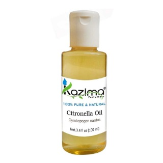 Kazima Citronella Oil,  100 ml  100% Pure & Natural