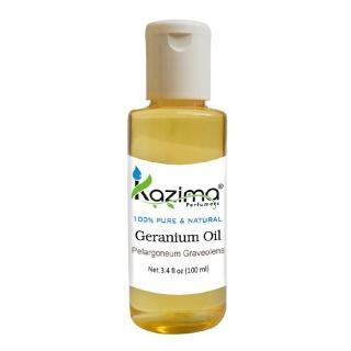 Kazima Geranium Oil,  100 ml  100% Pure & Natural