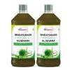 St.Botanica Wheatgrass Aloevera Juice (Pack of 2),  Natural  0.500 L