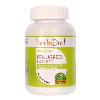 Herbadiet Fenugreek Extract,  60 capsules
