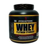 British Nutritions Whey Platinum Standard,  Vanilla  4.4 Lb