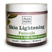 Auravedic Skin Lightening Formula,  Depigmentation  And Dark Spots Removal  100 G
