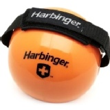 Harbinger Weighted Fitness Balls With Velcro Strap,  10lb
