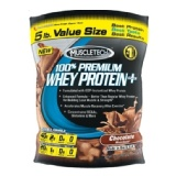 MuscleTech 100% Premium  Whey Protein +,  Chocolate  5 Lb