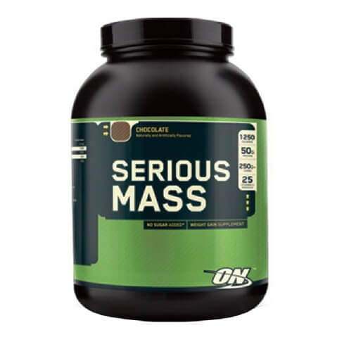 ON (Optimum Nutrition) Serious Mass,  Chocolate  6 lb