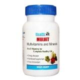 Healthvit Mulvit,  60 Capsules  Builds Immunity