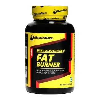MuscleBlaze Fat Burner With Garcinia Cambogia (750 mg),  90 capsules  Unflavoured