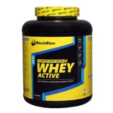 MuscleBlaze Whey Active,  4.4 lb  Chocolate