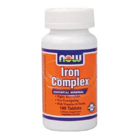 Now Iron Complex,  100 tablet(s)