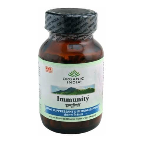 Organic India Immunity Capsules,  60 capsules