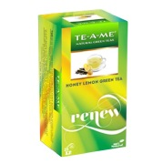 TE-A-ME Honey Lemon Green,  25 Piece(s)/pack  Unflavored