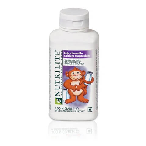 Amway Nutrilite Kids Chewable Calcium Magnesium,  100 tablet(s)  Unflavoured