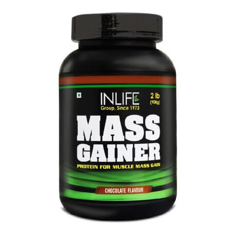 INLIFE Mass Gainer,  Chocolate  2 lb
