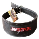 Schiek Black Leather Jay Cutler Signature Belt,  Black  Large